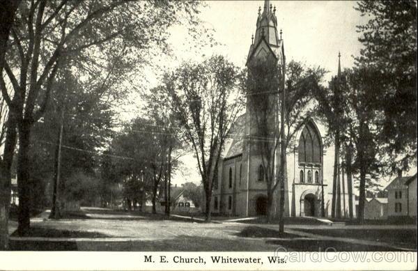 M.E. Church Whitewater Wisconsin