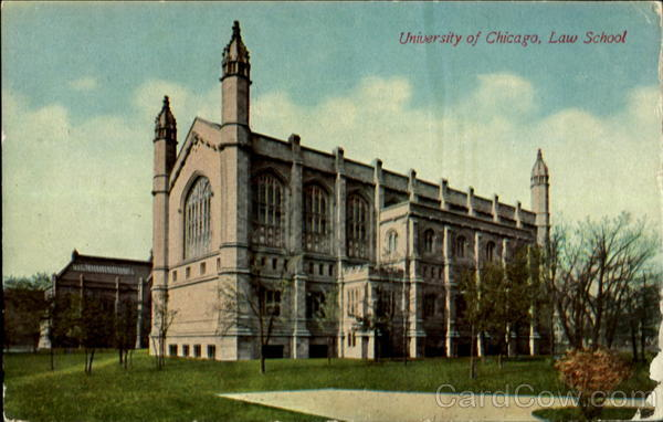 University of Chicago, Law School Illinois