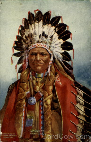 Geronimo, Apache Chief Native Americana