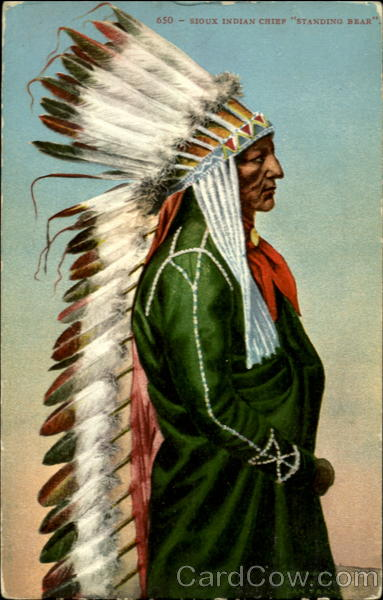 Standing Bear Native Americana