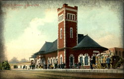 G.T.R. Station, Barrie, Ont