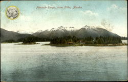 Pinnacle Range, from Sitka, Alaska