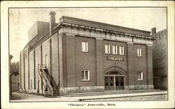 """""""Theater"""", Jonesville, Mich"""