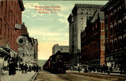 Empire State Express crossing Salina Street