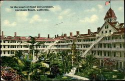 In the Court of Hotel del Coronado
