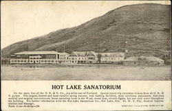 Hot Lake Sanatorium