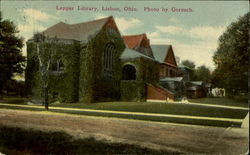 Lepper Library, Lisbon, Ohio