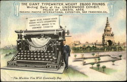 The Giant Typerwriter
