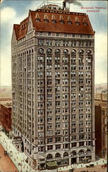 Masonic Temple Chicago Postcard