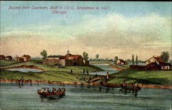Second Fort Dearborn Postcard