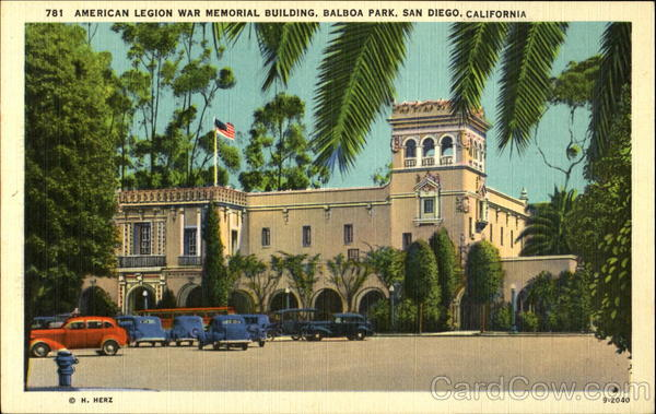 American Legion War Memorial Building San Diego California