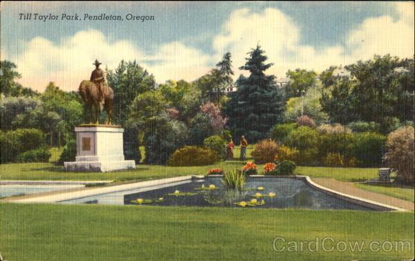 Till Taylor Park, Pendleton, Oregon