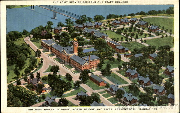 The Army Service Schools and Staff College Leavenworth Kansas