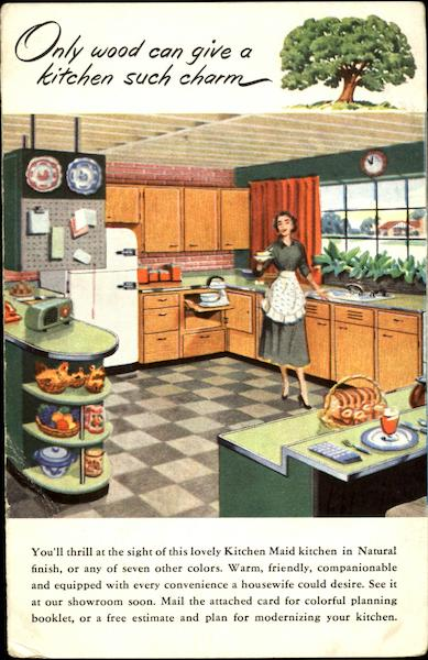 Kitchen Maid Kitchens Advertising Cooking