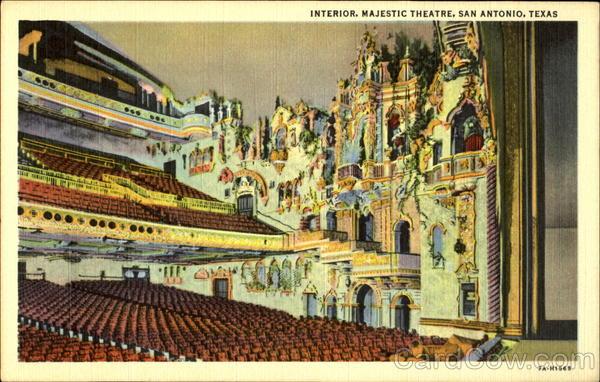 Interior Majestic Theatre San Antonio Tx
