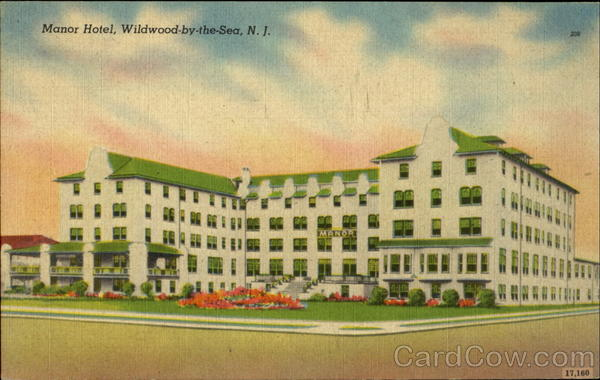 Manor Hotel Wildwood-by-the-Sea New Jersey
