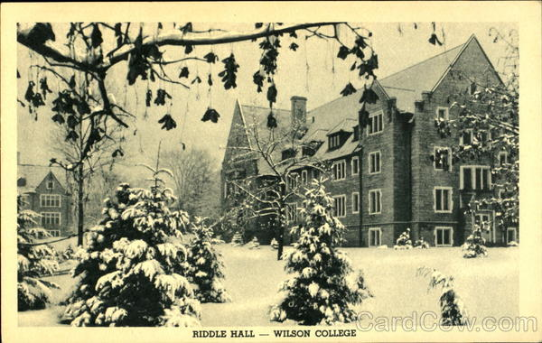 Riddle Hall-Wilson College Chambersburg Pennsylvania