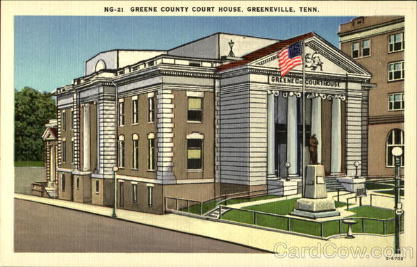 Greene County Court House Greeneville Tennessee