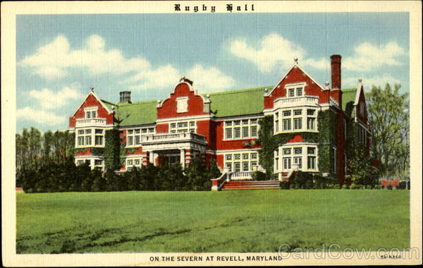 Rugby Hall on the Severn Revell Maryland