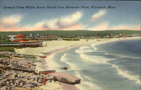 Generak View White Horse Beach From Manomet Point Plymouth Ma