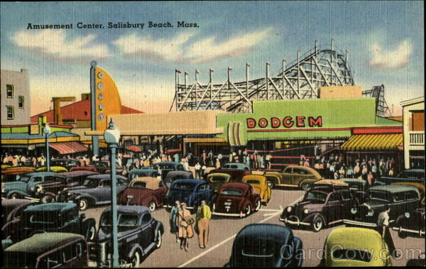 Amusement Center Salisbury Beach Massachusetts