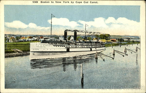 Boston to New York by Cape Code Canal Cruise Ships