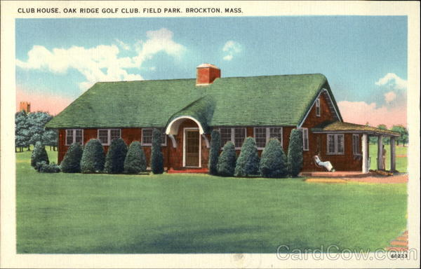 Club House, Oak Ridge Golf Club, Field Park Brockton Massachusetts