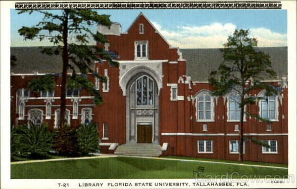 Library Florida State University Tallahassee