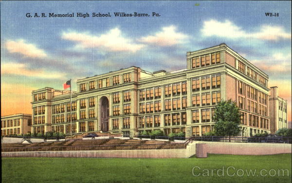 G. A. R. Memorial High School Wilkes-Barre Pennsylvania