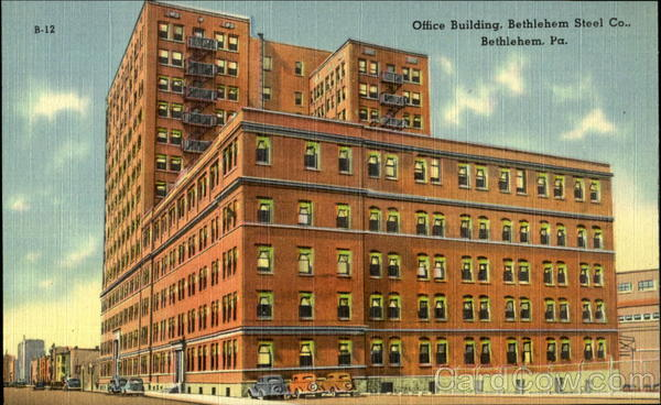 Office Building, Bethlehem Steel Co Pennsylvania
