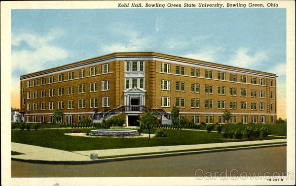 Kohl Hall, Bowling Green State University Ohio