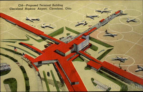 Proposed Terminal Building Cleveland Hopkins Airport Ohio