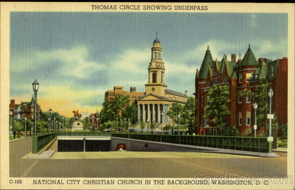 Thomas Circle Showing Underpass Washington District of Columbia