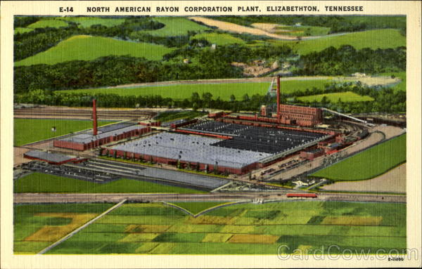 North American Rayon Corporation Plant E-14 Elizabethton Tennessee