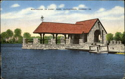 Boathouse in Carey Park