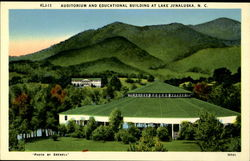 Auditorium And Educational Building At Lake Junaluska. N.C
