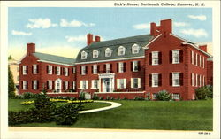 Dick's House, Dartmouth College Postcard