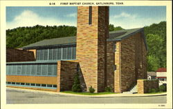 G-14 First Baptist Church, Gatlinburg, Tenn