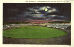 Night-time Scene of Roosevelt Stadium