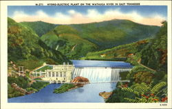 Hydro-Electric Plant on the Watauga River in East Tennessee