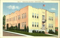 Municipal building, Morristown, Tenn