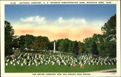 JC-90 National Cemetry, U. S. Veterans Administration Home, Mountain Home, Tenn