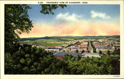 Panoramic View of Kingsport, Tenn