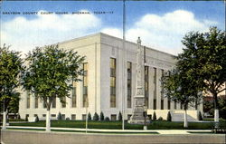 Grayson County Court House, Sherman, Texas - 17