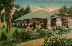 Main Entrance Building and Gift Shoppe, Polar Caves, N. H
