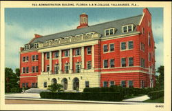Administration Building Florida A & M College Postcard