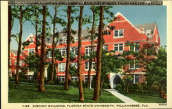History Building, Florida State University, Tallahasee, Fla Postcard