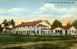 20- Recreation Hall, Fort McClellan, Ala