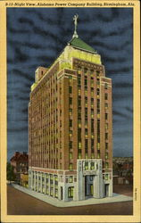 B-13 Night View, Alabama Power Company Building, Birmingham, AL
