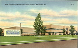 New Electronics Plant of Western Electric